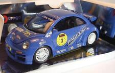 Bburago 1/18 Volkswagen VW New Beetle blau in Box #2776