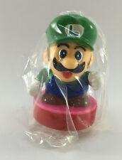 Banpresto NINTENDO Super Mario Bros. Vintage Luigi STAMP Figure JAPAN RARE