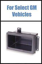 GM GMC CHEVY PICKUP TRUCK POCKET CAR STEREO RADIO DASH KIT CUBBY STORAGE BIN