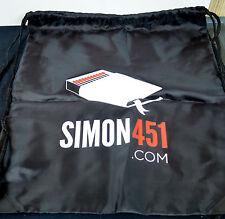 SIMON451.COM DRAW STRING BACKPAK TOTE SDCC Exc 2014