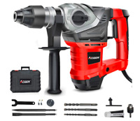 AOBEN 13 Amp SDS Plus Rotary Hammer Drill with Vibration Control Heavy Duty Demo