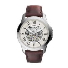 Relojes de pulsera automáticos Fossil de cuero