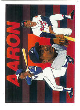 Hank Aaron 1991 Upper Deck Heroes #27 of 27  Milwaukee Braves MT