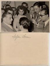 Sophia loren. fotografía de la actriz muy joven años 50/60