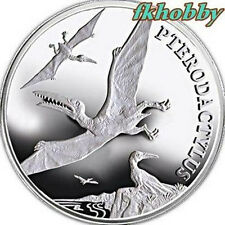 Poland 2009 silver Dinosaur Pterodactylus