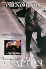 Eric Clapton 1996 Phenomenon Soundtrack Original Promo Poster