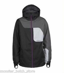 BRAND NEW W/ TAGS O'Neill DAVID WISE Snowboard Ski Jacket BLACK MEDIUM-2XLARGE