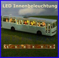 S332 - LED Innenbleuchtung 10cm warmweiß für Bus Reisebus Beleuchtung RC Modelle