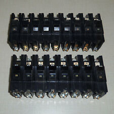 LOT OF 17 USED STAB-LOK KF CIRCUIT BREAKERS 1 POLE 20A  120/240V - 2W