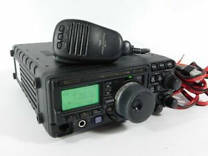 Yaesu FT-897 Ham Radio Transceiver w/ Mic + Power Cable (works beautifully)