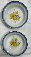 """(Set of 2) Mikasa Country Club """"Amy"""" Soup/Cereal Bowl(s) CA 503 Japan - 8.5"""""""