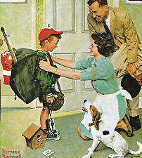 Home From Camp Norman Rockwell 8x10 Poster Fine Art Print