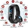 bluetooth Smartwatch Schrittzähler Armbanduhr Sport Fitness Tracker Herzfrequenz