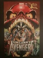 Uncanny Avengers #1 Neal Adams Sketch and Variant 2012 Marvel Comic Books