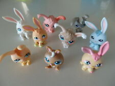 Assorted Collection of 9 Littlest Pet Shop Rabbits/Bunnies Teriffic Condition!