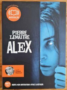 Livres audio. Pierre Lemaitre.  Alex.  1 cd. Comme neuf.