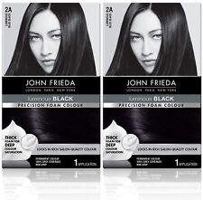 2 Pack - John Frieda - Precision Foam Colour - 2A Blue Black