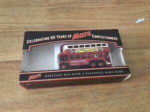 LLEDO - London Transport Bus Mars With Original Box No Mars Bars