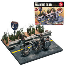 The Walking Dead TV Daryl Dixon With Chopper Set- McFarlane Toys Building Sets