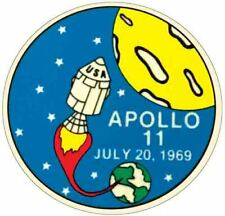 Snoopy  Apollo 11 Space  NASA  1969 Vintage Looking Travel Sticker Decal