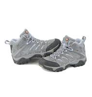 Merrell Moab 2 Mid Ventilator Waterproof Hiking Trail Boots Gray Womens Size 9.5