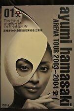 AYUMI HAMASAKI Arene Tour 2003-2004 Concert Music Taiwanese DVD Region 9