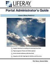 Liferay Administrator's Guide by Sezov, Rich