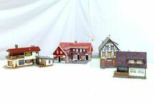 Faller Ecc. . H0 4 Pezzo Casa di Legno Casa Villa Casa Unifamiliare Edificio