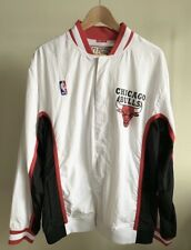 Mitchell and Ness Chicago Bulls 1992-93 Retro Home Warm Up Jacket Sz 44/L NWT