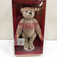Steiff MOHAIR BEAR 1983 Limited Edition Gray Model 0150/32 Growls when Moved
