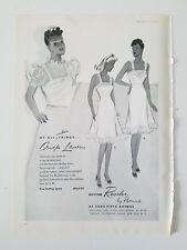 1939 women's Rhythm Reveled by Patricia vintage Crisp lawn slip ad