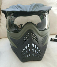 Vforce Grill Paintball Goggle Mask with Thermal clear lens Reverse Olive Drab