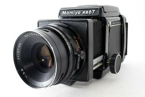 EXC5 Mamiya RB67 Pro Sekor 127mm f/3.8 Lens 120 Film Back From JAPAN 745567