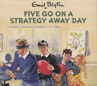 Famous Five Go on a Strategy Away Day Enid Blyton 2CD Audio Book NEW Grown Ups