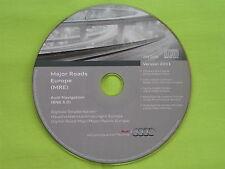 CD NAVIGATION SOFTWARE EX EUROPA VERSION 2011 AUDI BNS 5.0 A2 A3 A4 A6 TT TOP