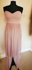 Quiz pink Dress Size 10 Brand New With Tags BNWT RRP 29.99