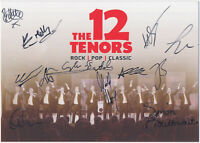 The 12 Tenors - original signierte Autogrammkarte - hand signed