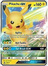 Pikachu GX SM232 Pokemon Cosmic Eclipse | 1 card | free protector | jumbo card