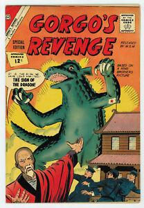 GORGO'S REVENGE #1 7.0 ONLY ISSUE OW PGS 1962