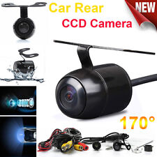 Car Rear View Reverse IR LED Reversing 170° CCD Camera Waterproof Night Vision