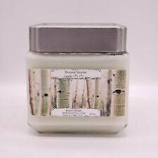 Aspen Woods Scented Candle•Soy Candles Handmade•Soy Candle Handmade•32 oz