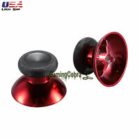 Chrome Red Analog Thumbstick Replacement Parts for Xbox One S Elite Controller