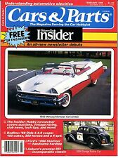 CARS and PARTS magazine February 1989--Mercury, Dodge, Oldsmobile, Ford, Auburn