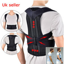 Adjustable Posture Corrector Back Support Shoulder Lumbar Brace Corset Back Belt
