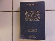 Dictionnaire des peintres sculpteurs dessinateurs et graveurs  tome 2 BENEZIT