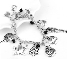 The Nightmare Before Christmas Jack Charm Bracelet Anklets Wristbands Pendant