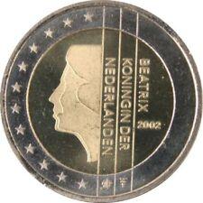 Pièces euro des Pays-Bas pour 2 Euro année 2002