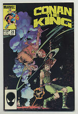 Conan the King #24 1984 Simons Marc Silvestri Geof Isherwood MW Kaluta Vess v