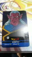 dragon ball lamincards edibas italia serie oro n 100