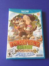 Donkey Kong Country Tropical Freeze *First Print Blue Case* (Wii U) NEW